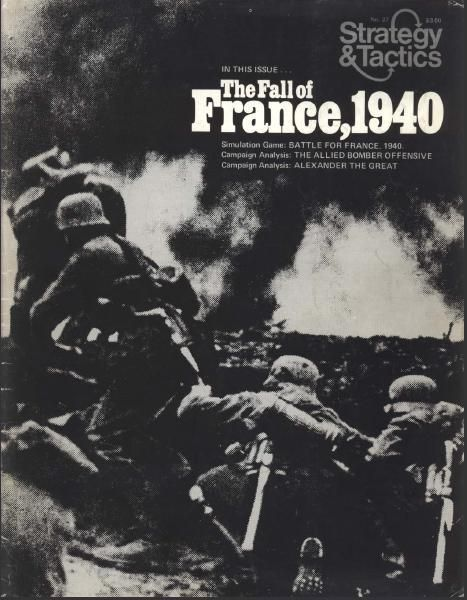 Board Game: The Game of France, 1940: German Blitzkrieg in the West