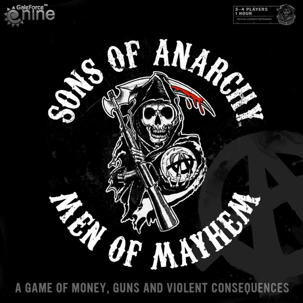Sons of Anarchy: Men of Mayhem Cover