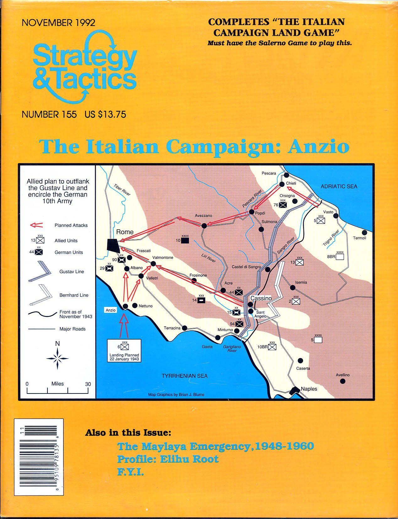 The Italian Campaign: Anzio
