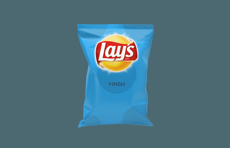 Картинка пачка чипсов без фона
