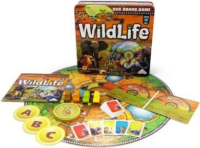 Wildlife DVD Boardgame