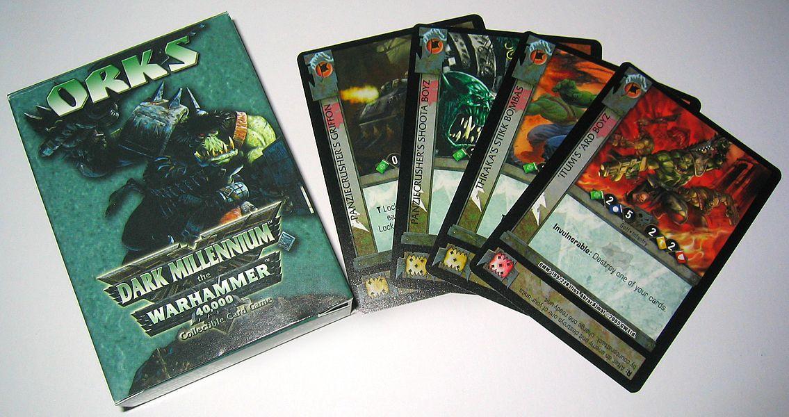 Dark Millennium: The Warhammer 40,000 Collectible Card Game
