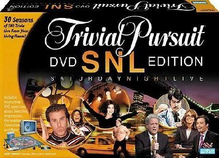 Trivial Pursuit: SNL DVD Edition