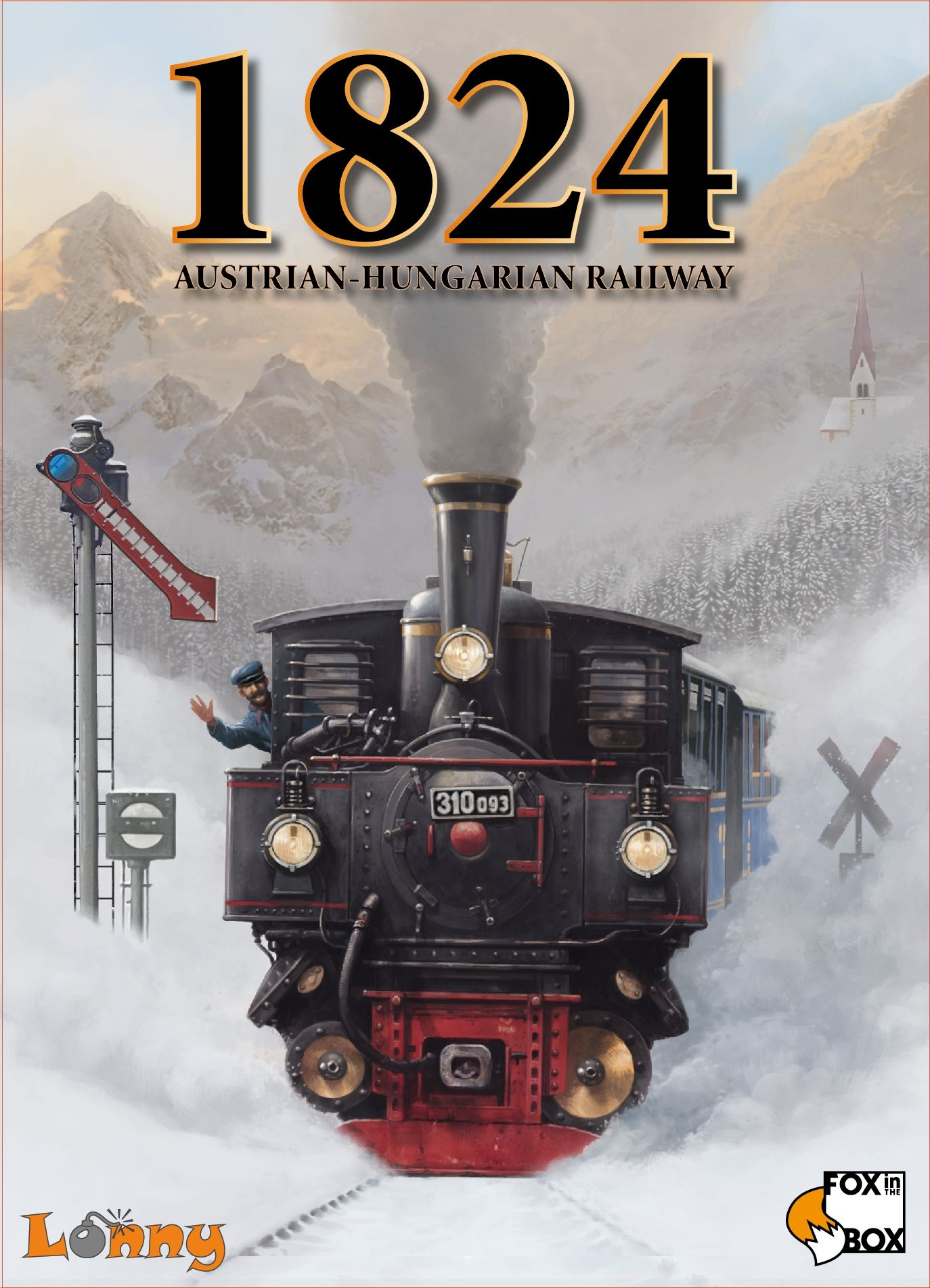 1824: Austrian-Hungarian Railway (Second Edition)