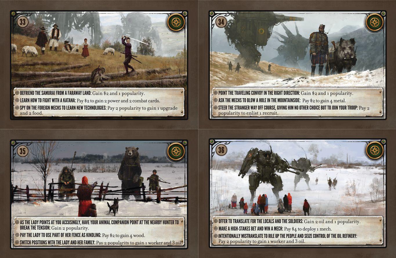 Scythe: Promo Pack #2 – Encounter Cards 33-36