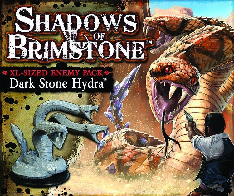 Shadows of Brimstone: Dark Stone Hydra XL Enemy Pack