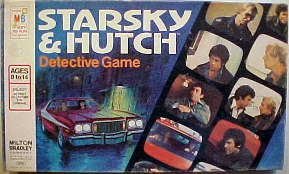 Starsky and Hutch Detective Game