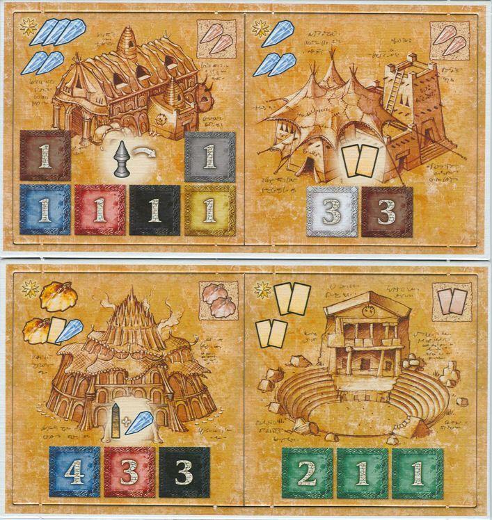 Blue Moon City: Expansion Tile Sets 1 & 2