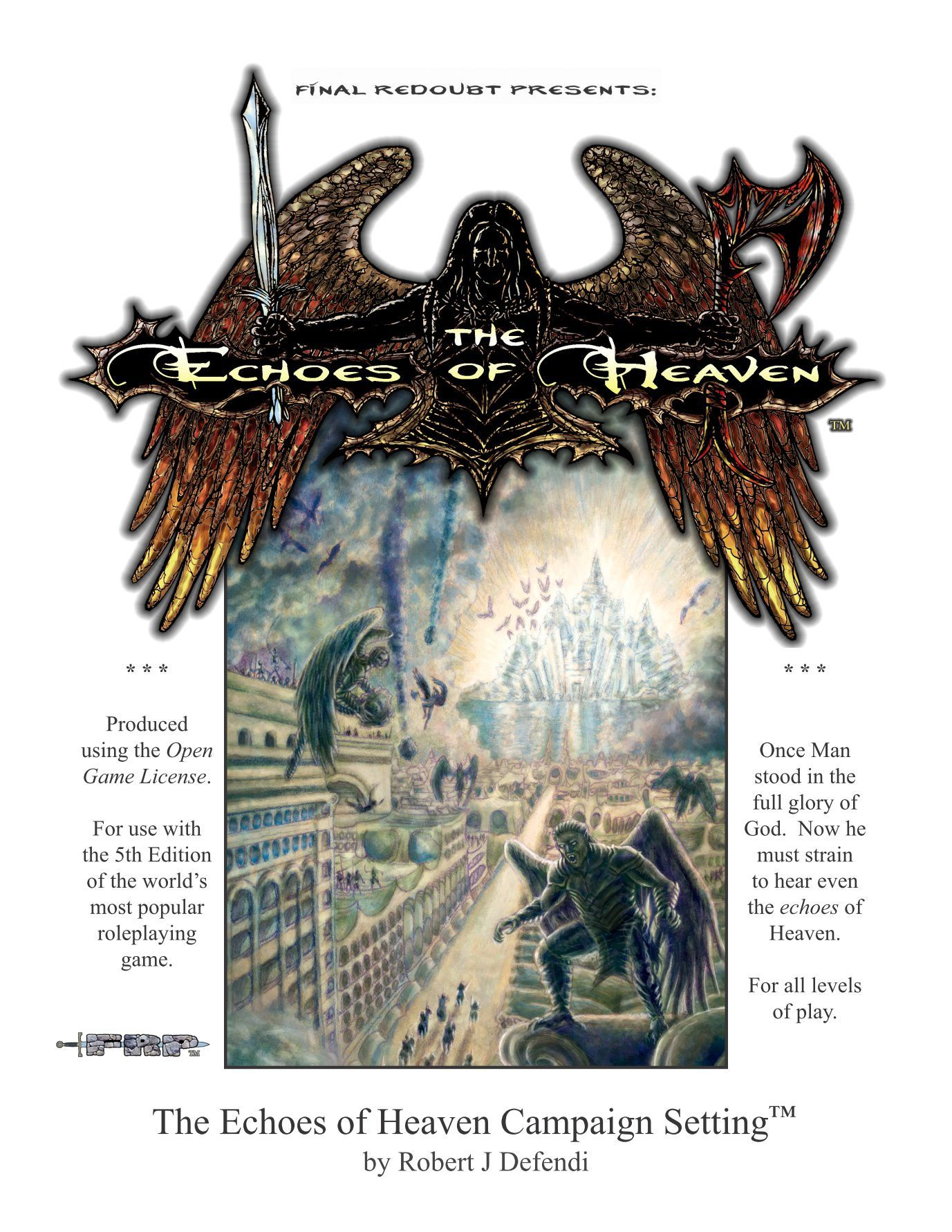 The Echoes of Heaven Campaign Setting (5e) | Image | BoardGameGeek