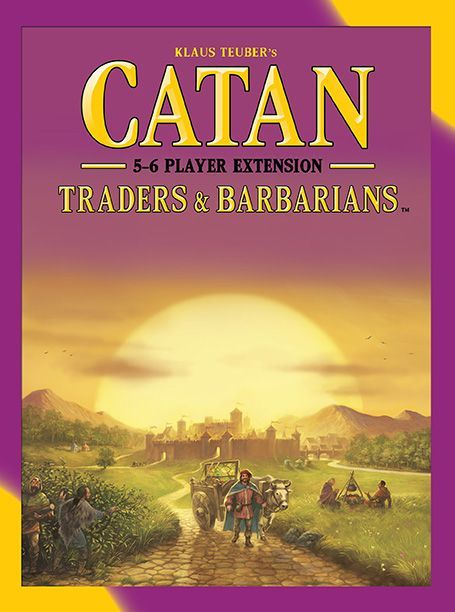Catan: Traders & Barbarians – 5-6 Player Extension