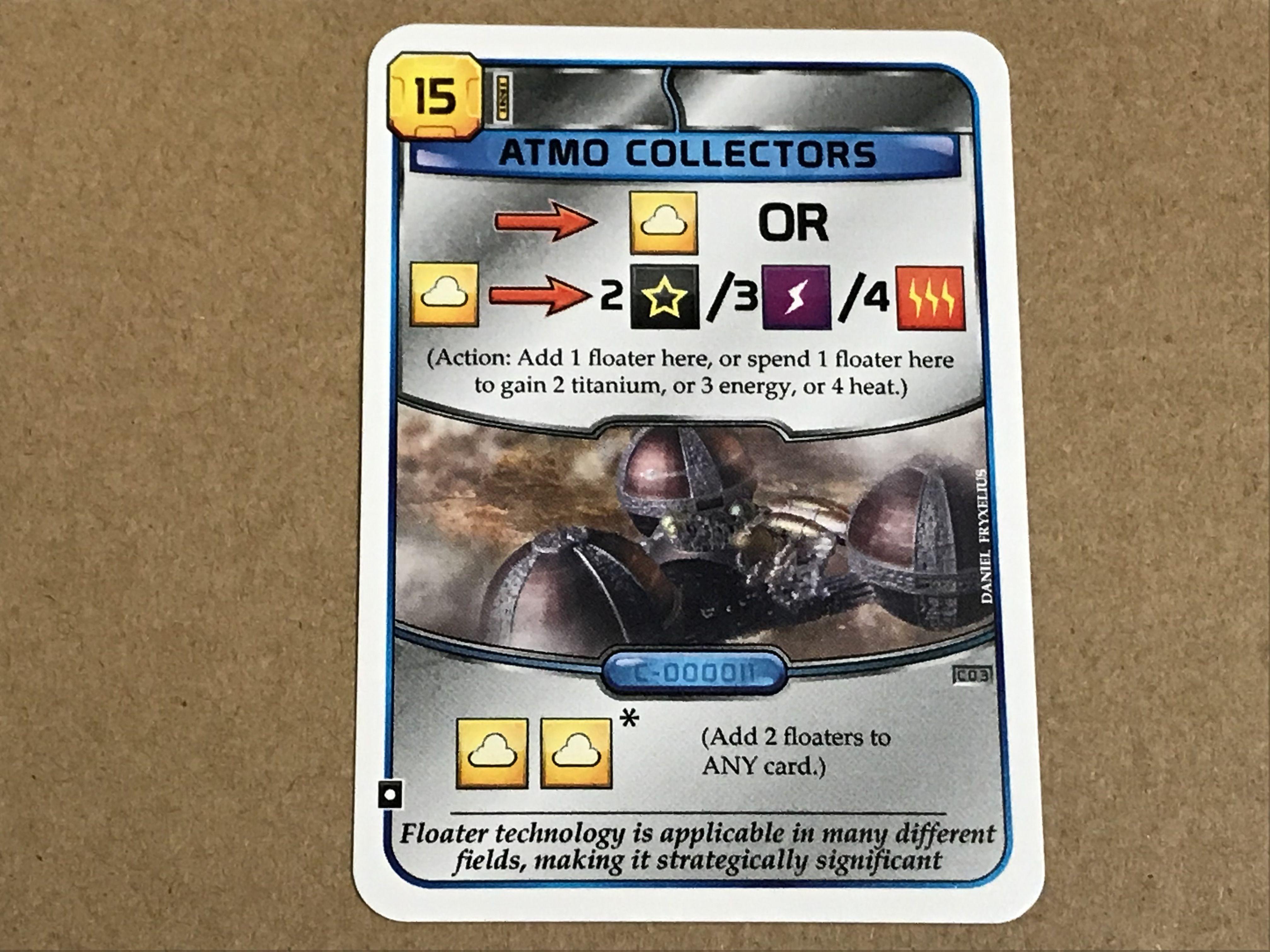 Terraforming Mars: Atmo Collectors Promo Card
