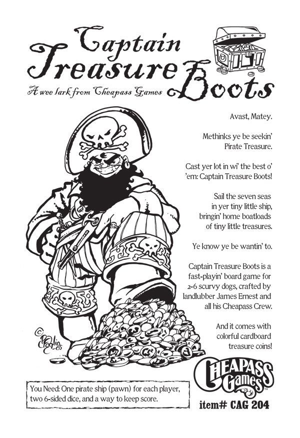 Captain Treasure Boots