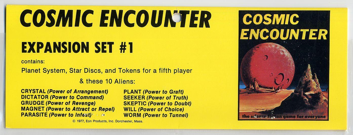 Cosmic Encounter: Expansion Set #1