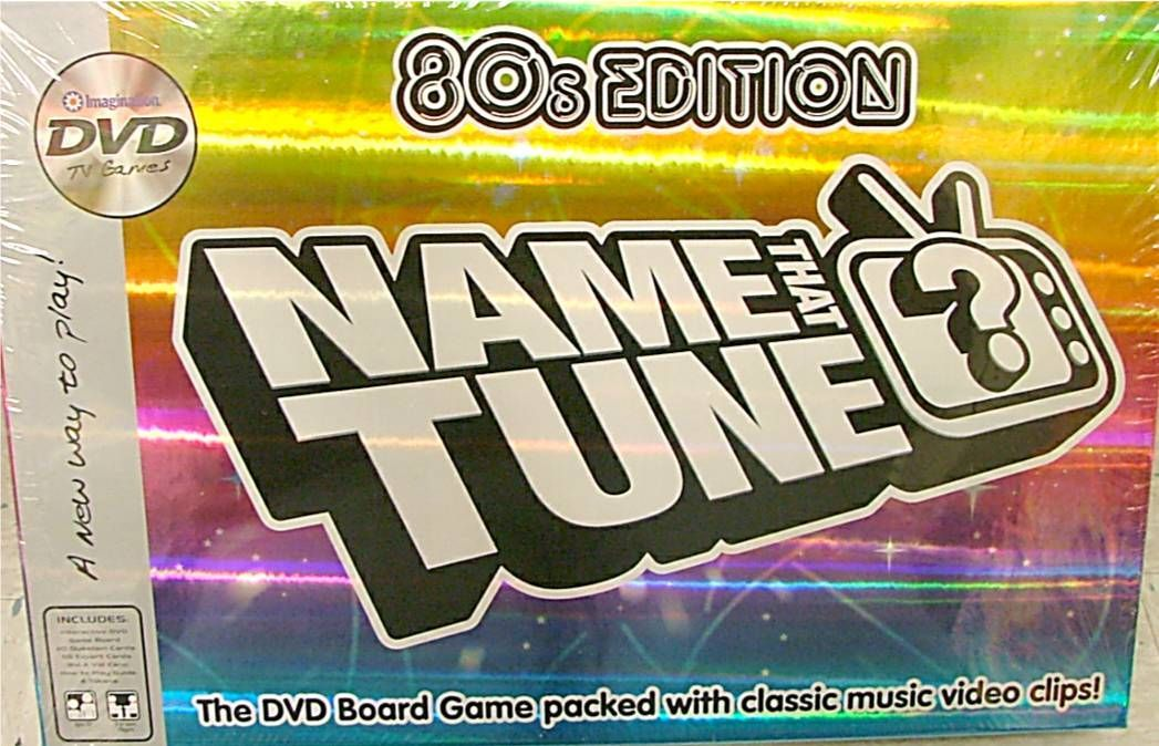 Name That Tune 80's Edition DVD Game