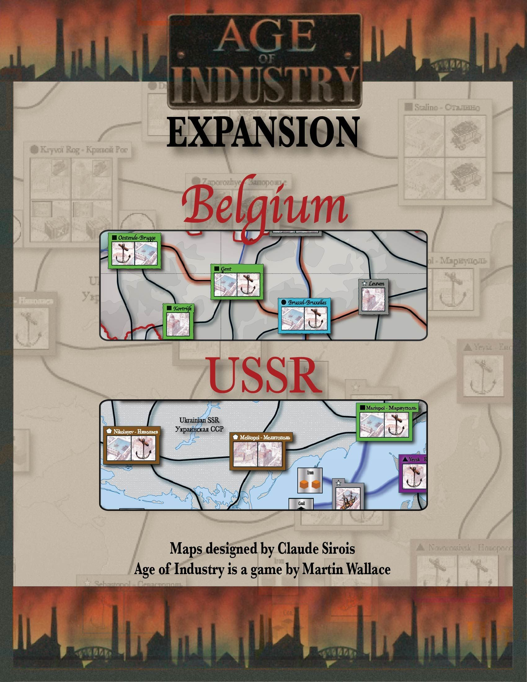 Age of Industry Expansion: Belgium & USSR