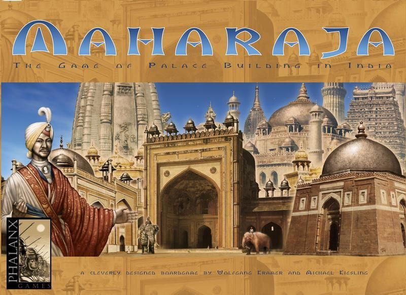 Maharaja: The Game of Palace Building in India