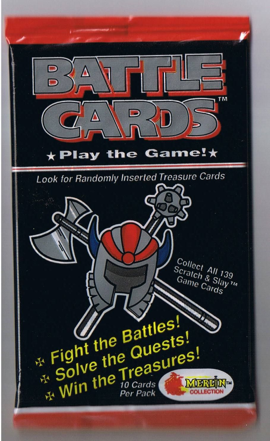 Fighting Fantasy Battle Cards