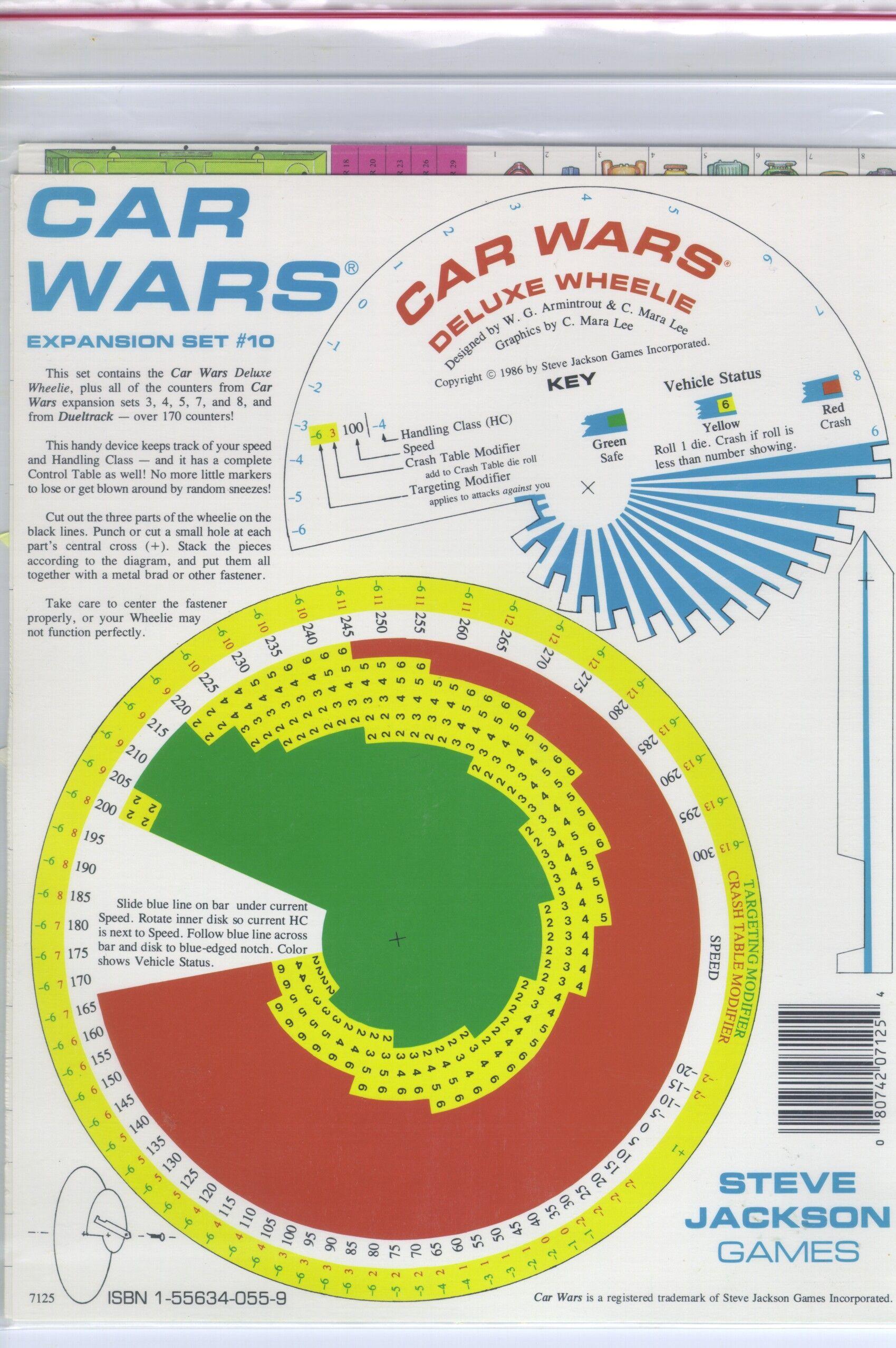 Car Wars Expansion Set #10