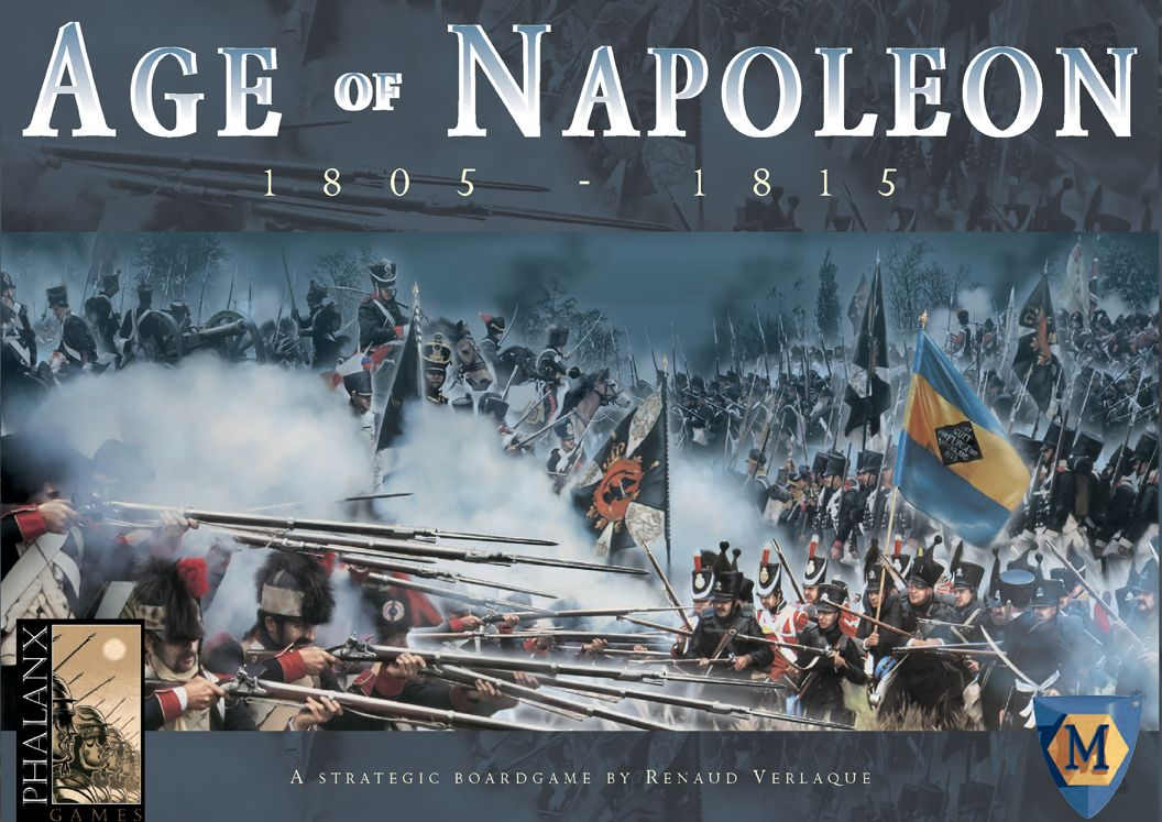 Main image for Age of Napoleon board game