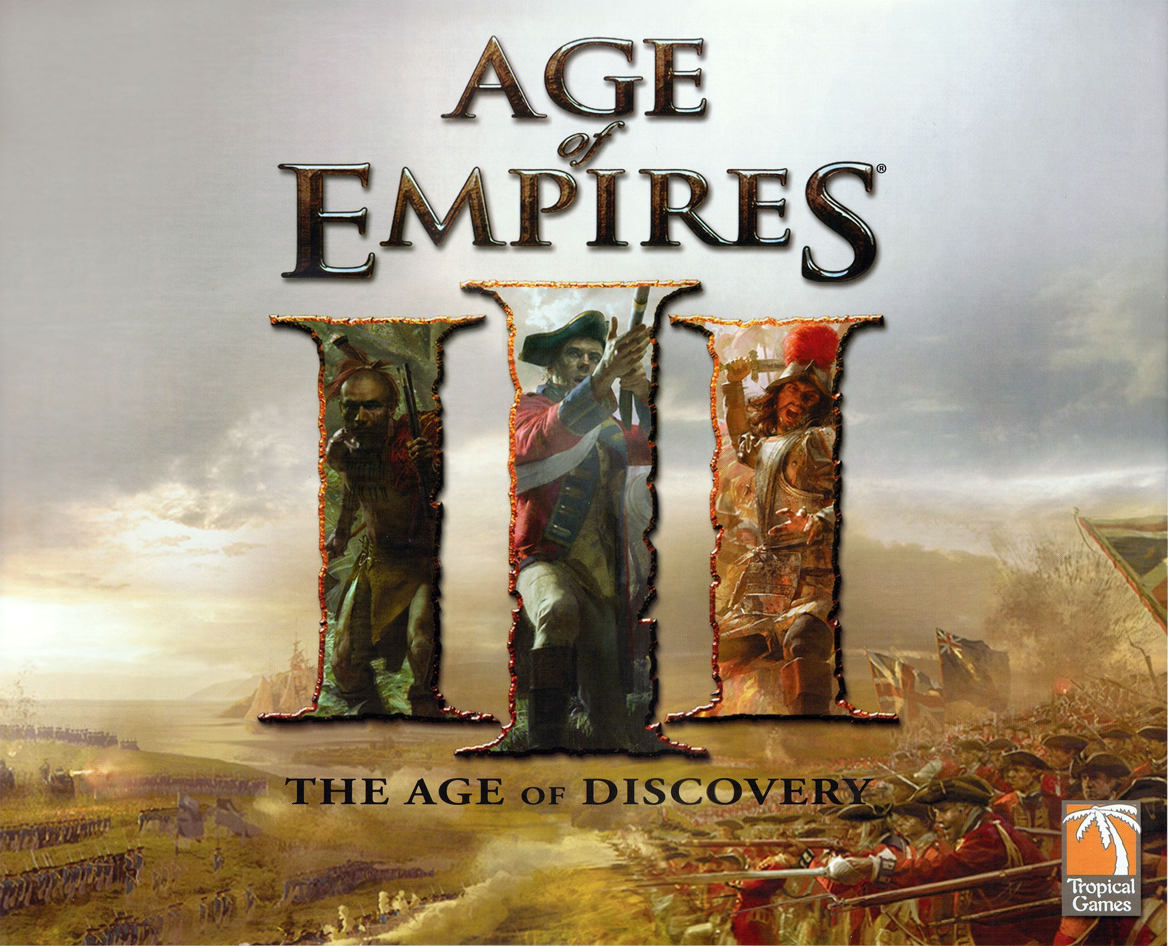 Main image for Age of Empires III: The Age of Discovery board game