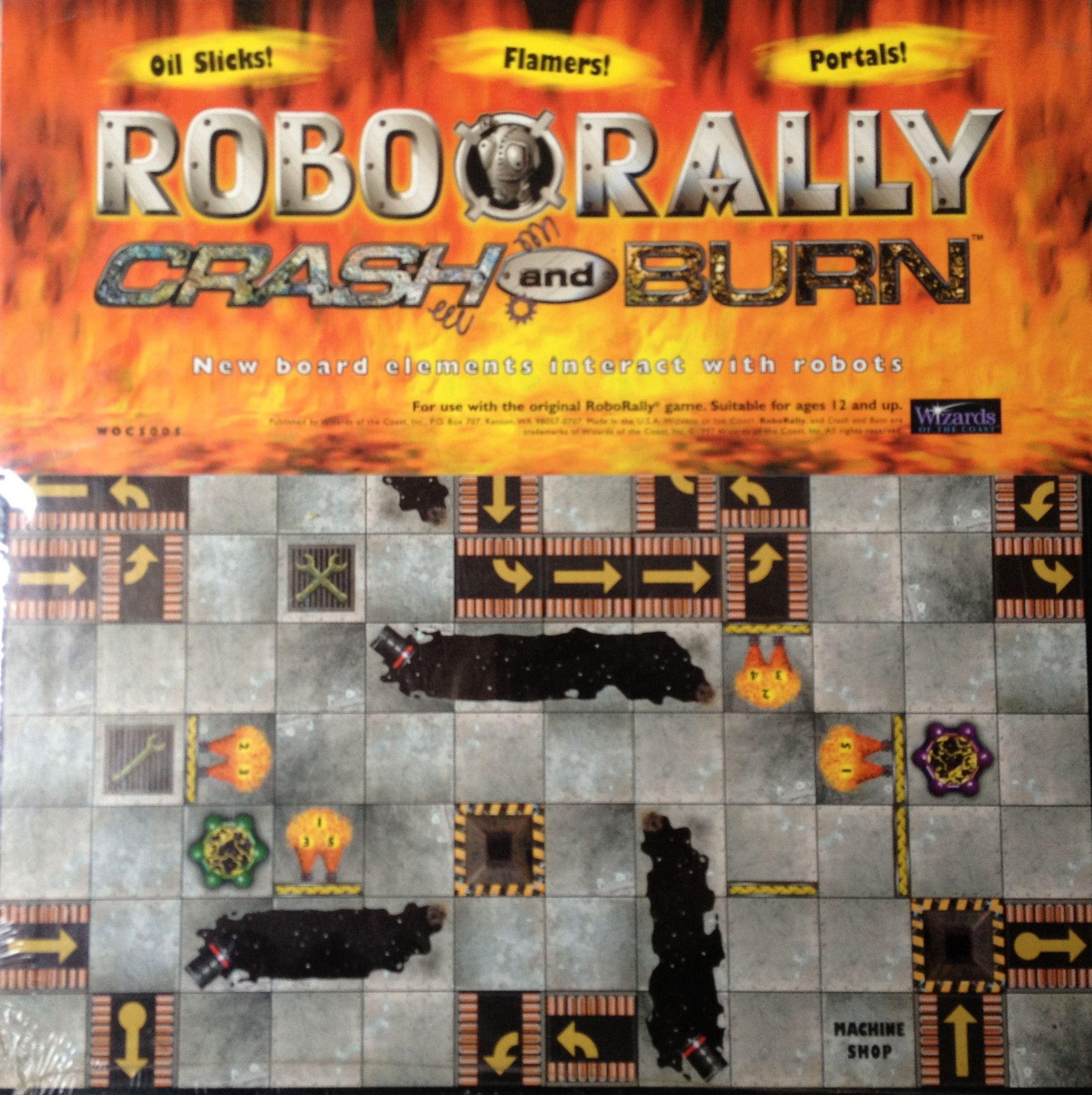 RoboRally: Crash and Burn