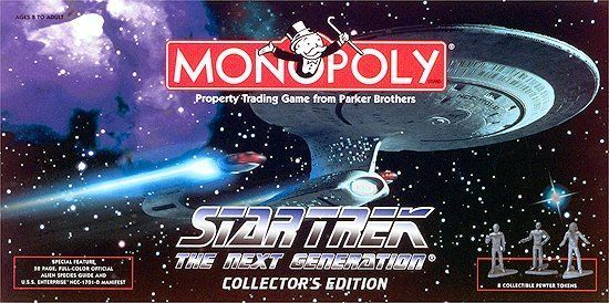 Monopoly: Star Trek The Next Generation