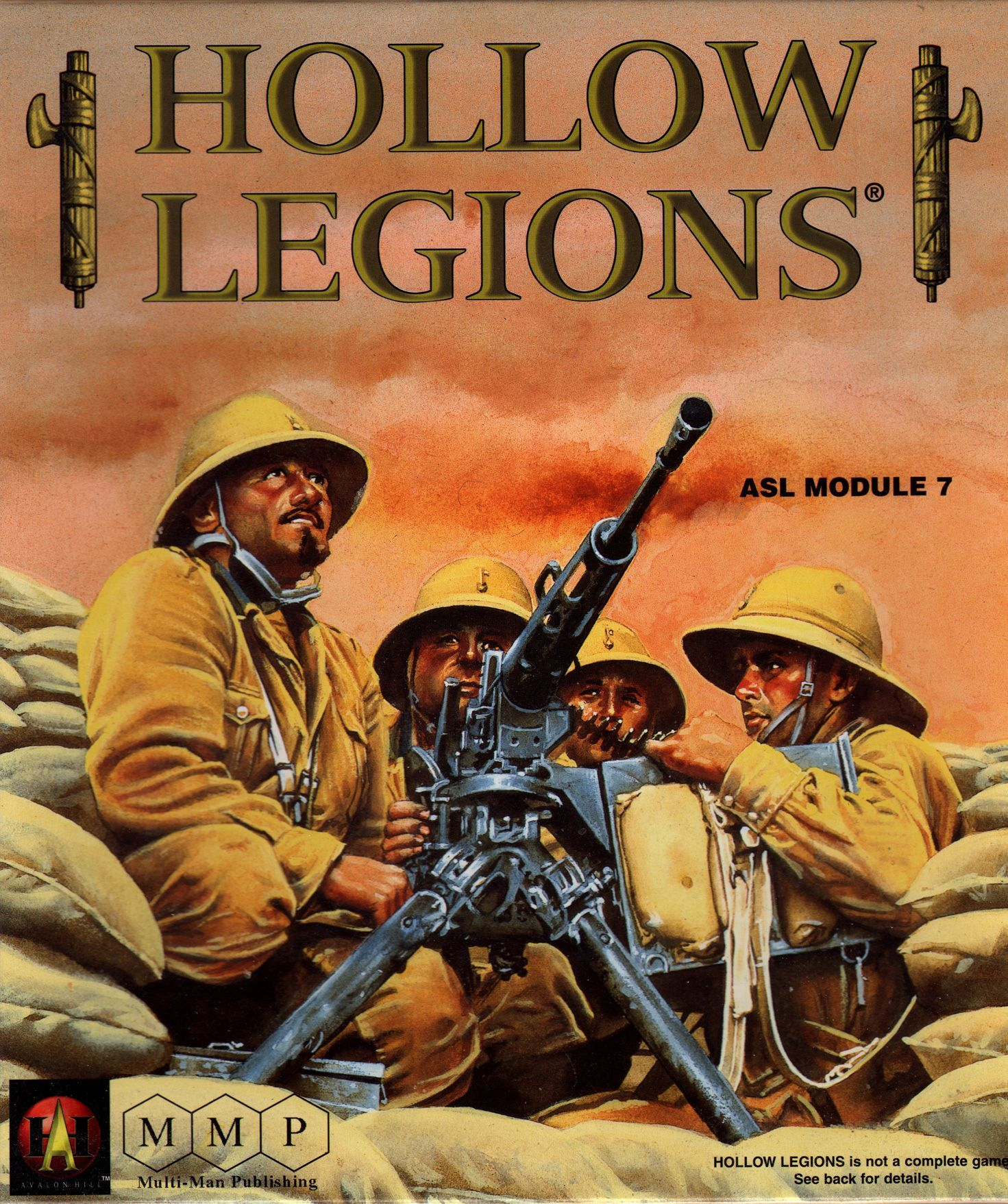 Hollow Legions: ASL Module 7