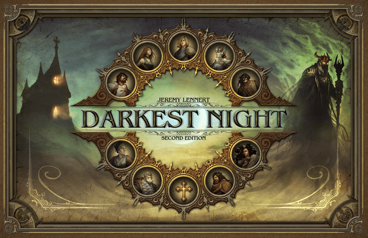 Main image for Darkest Night (Second edition)