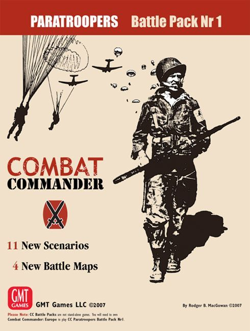 Combat Commander: Battle Pack #1 – Paratroopers