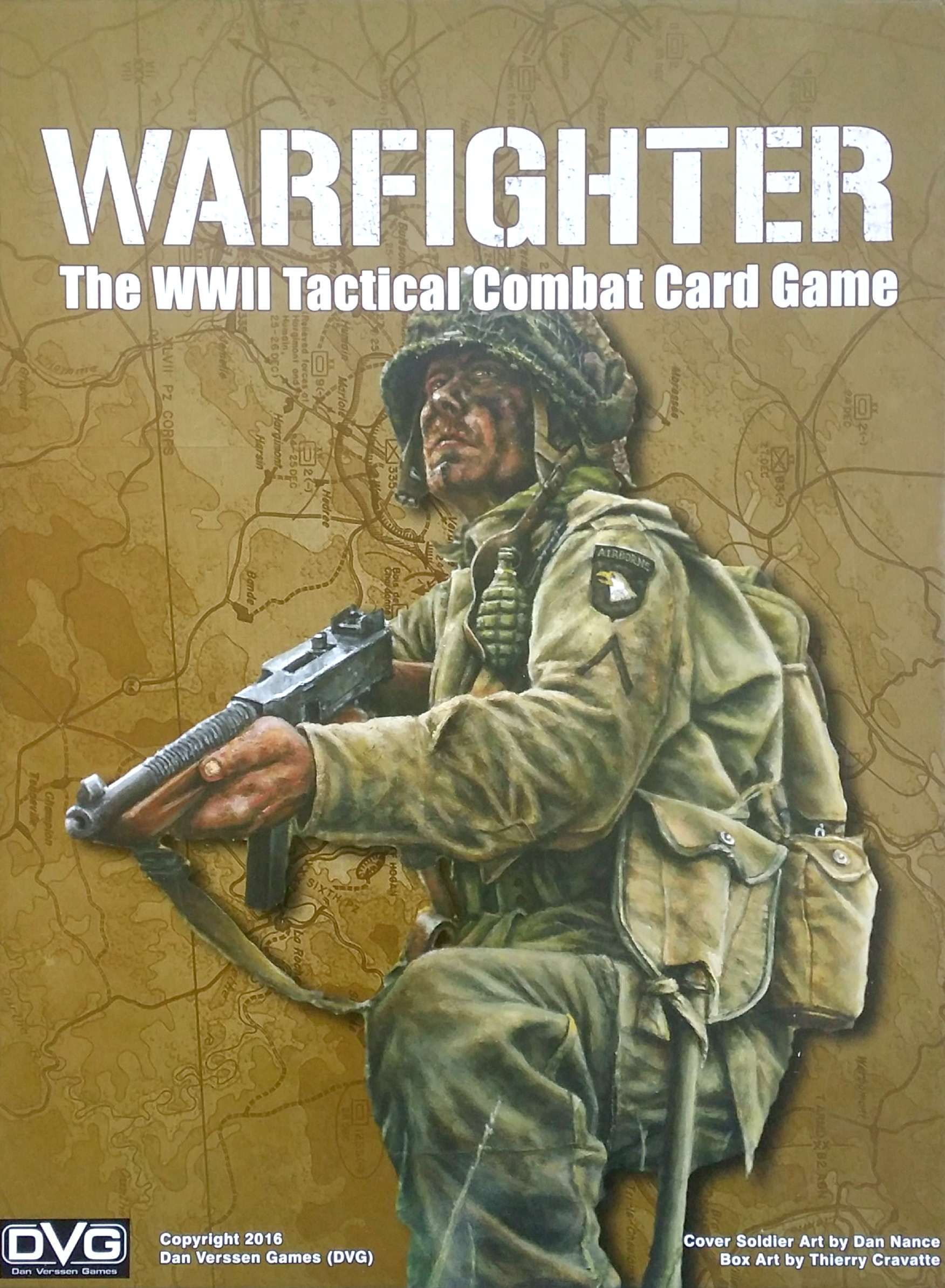 Main image for Warfighter: The WWII Tactical Combat Card Game
