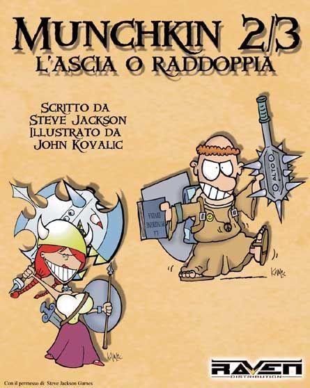 Munchkin 2/3: L'Ascia o Raddoppia