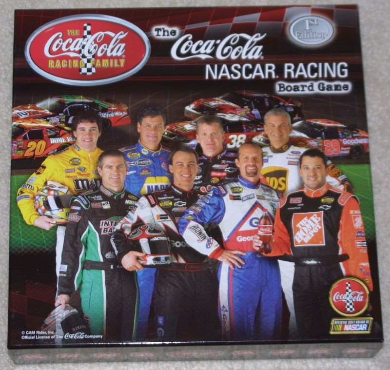The Coca-Cola Nascar Racing Board Game
