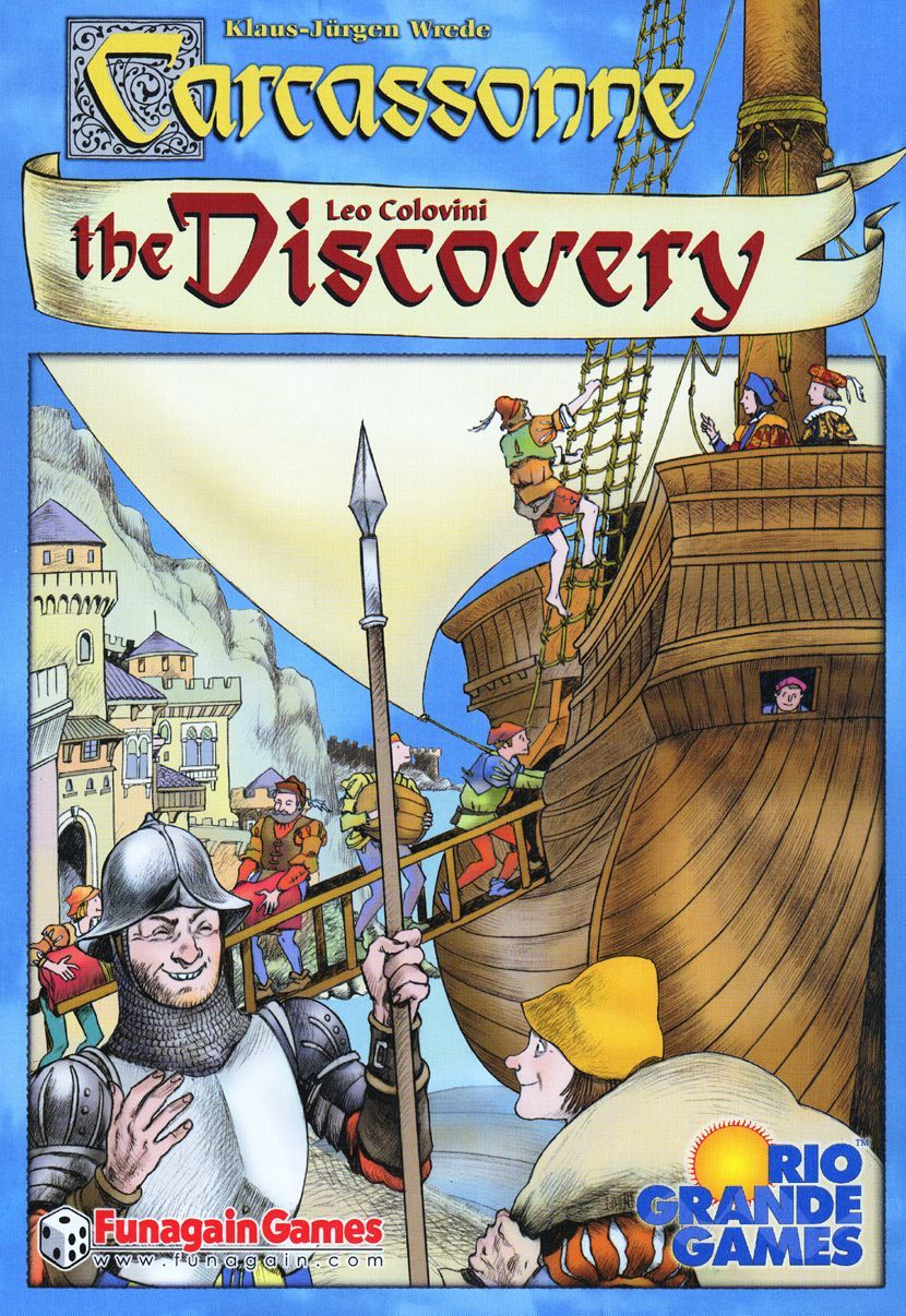 Carcassonne: The Discovery