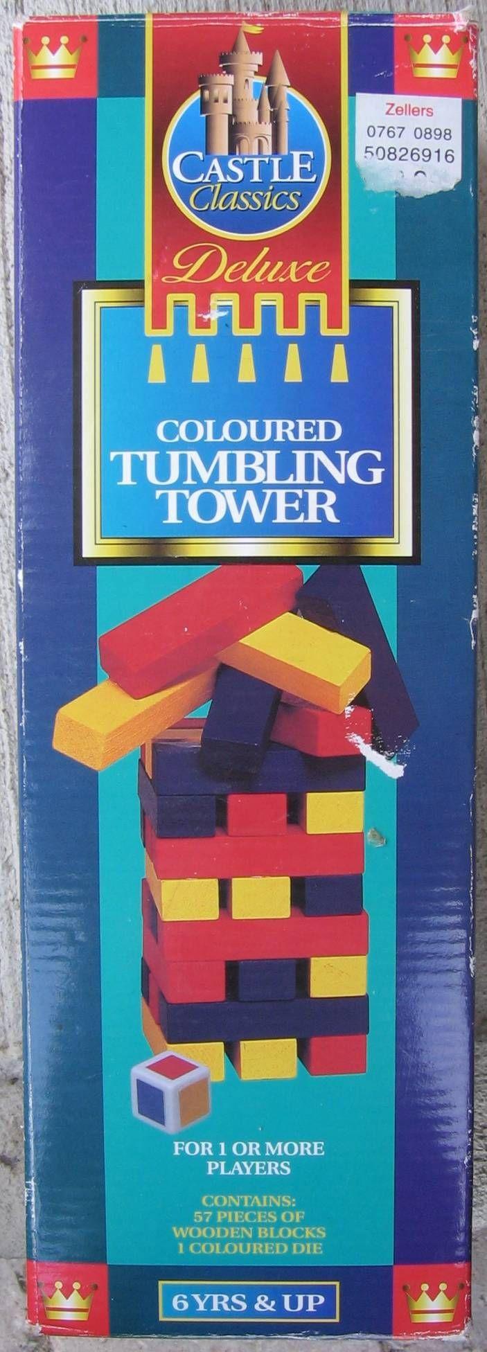 Tumbling Tower: Rainbow!