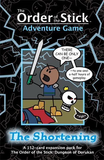 Order of the Stick Adventure Game: The Shortening