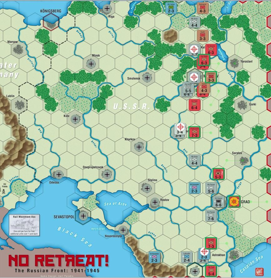 NR: At it Again | No Retreat! The Russian Front | BoardGameGeek
