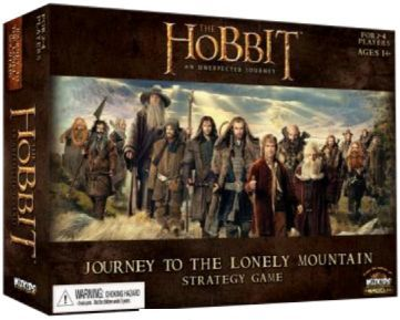 The Hobbit: An Unexpected Journey – Journey to the Lonely Mountain Strategy Game
