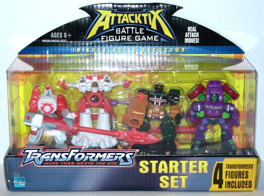 Attacktix Battle Figure Game: Transformers