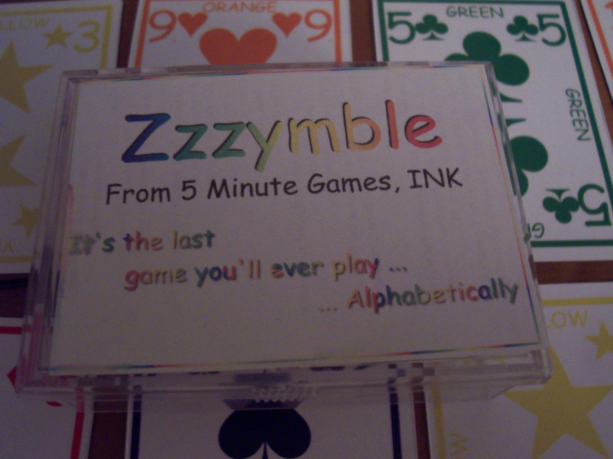 Zzzymble