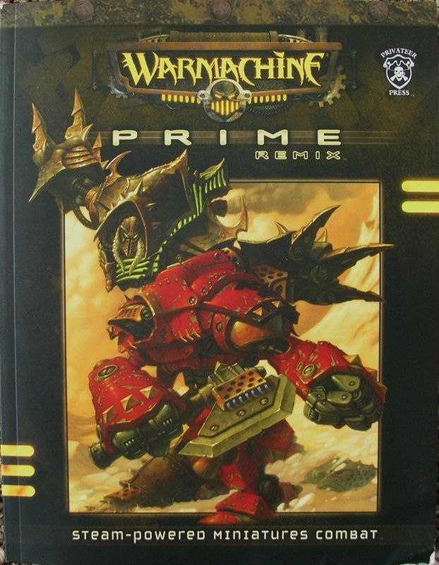 Warmachine Prime Remix