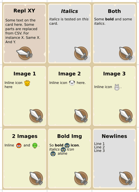 Inkscape Extensions for Boardgame Development | BoardGameGeek