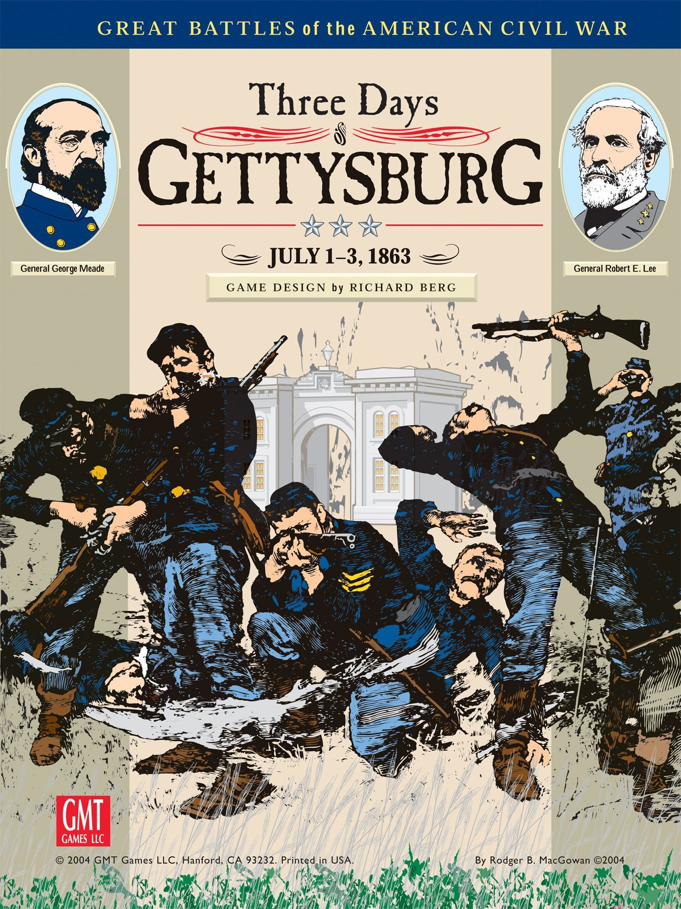 Three Days of Gettysburg (Third Edition)