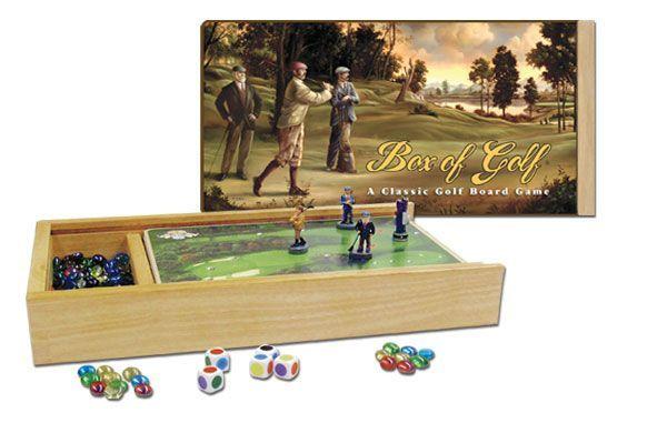Box of Golf: A Classic Golf Board Game