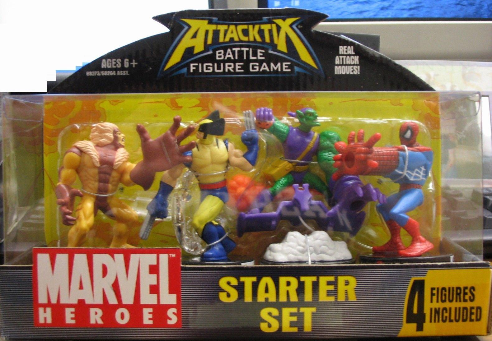 Attacktix Battle Figure Game Marvel Superheroes