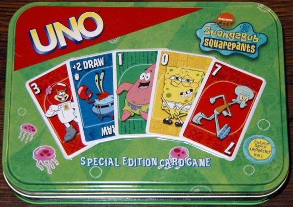 UNO: SpongeBob SquarePants