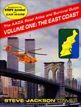 Car Wars Supplements: The AADA Road Atlas and Survival Guides