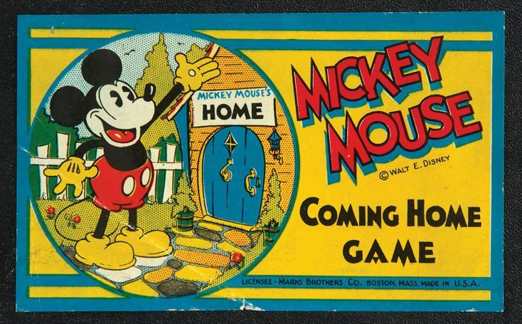 Mickey Mouse Coming Home Game