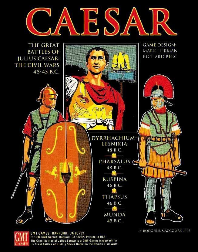 The Great Battles of Julius Caesar: The Civil Wars 48-45 B.C.