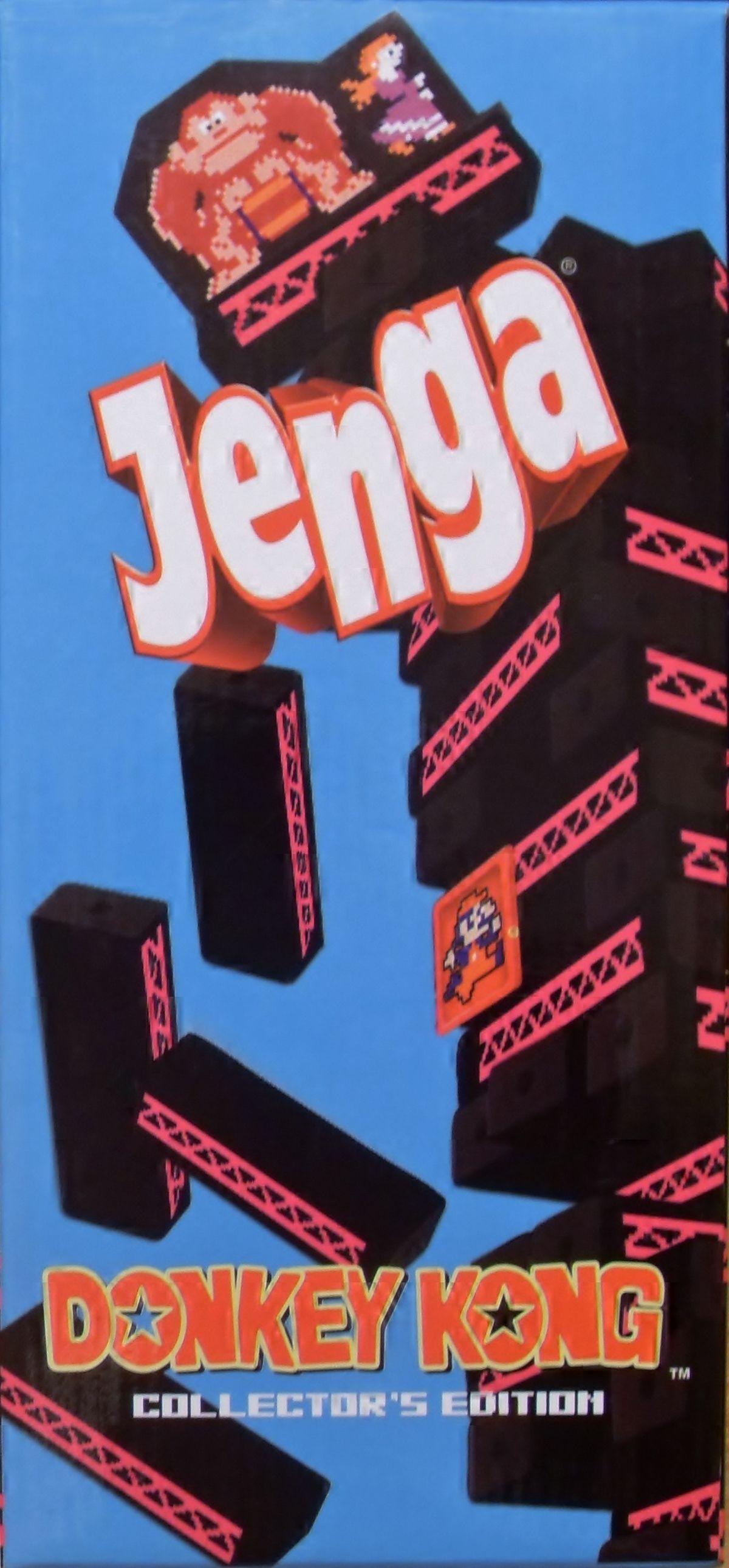 Jenga: Donkey Kong Collector's Edition