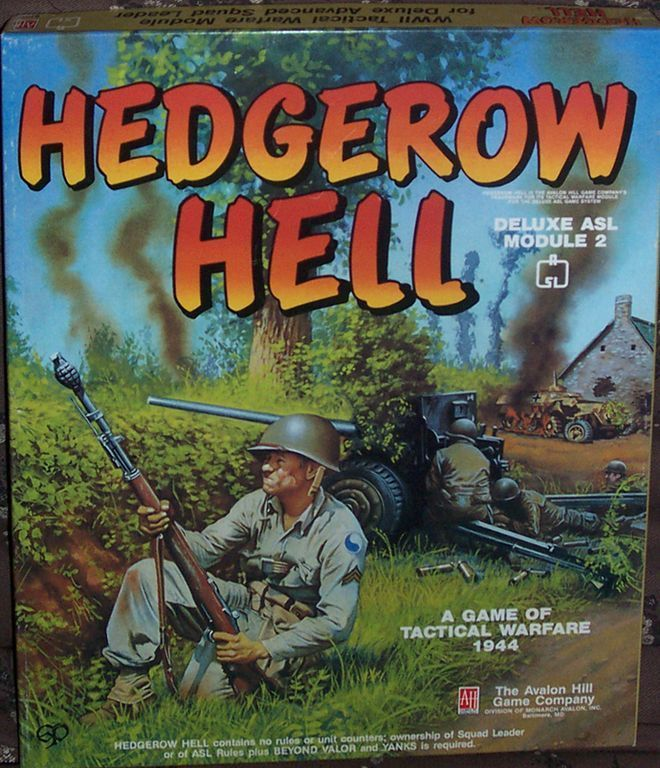Hedgerow Hell: ASL Deluxe Module 2